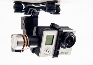 UAV GoPro Zenmuse H3-3D 3-Axis Gimbal